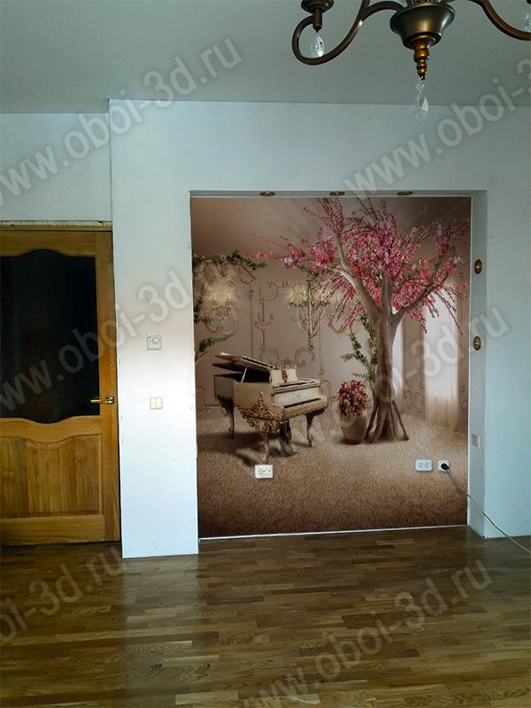 Как визуально увеличить комнату при помощи обоев фото